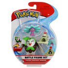 Pokemon-Pack 3 figurines Dartrix Sandygast et Mareanie