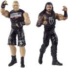 WWE-Coffret de 2 figurines de catch Brock Lesnar et Roman Reigns 15 cm