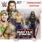 WWE-Coffret de 2 figurines de catch Roman Reigns et John Cena 15 cm