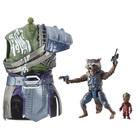 Figurine Rocket Raccoon 15 cm et Groot Legends Series Marvel