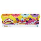Pâte à modeler 4 pots couleur Sorbet de Play-Doh