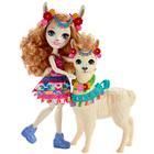 Enchantimals-Balade au zoo Lluella Llama et poupée Fleecy