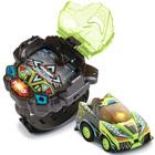 Voiture télécommandée et montre vertes - Turbo Force