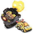 Voiture télécommandée et montre jaunes - Turbo Force