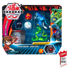 Figurines Bakugan Battle Planet Pack - Ventus Fangzor et Aquos Trox