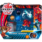 Figurines Bakugan Battle Pack - Pyrus Howlkor et Haos Mantonoid