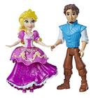 Mini-poupées Raiponce et Flynn 8 cm - Disney Princesses