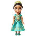 Poupée Jasmine deluxe 38 cm avec robe verte - Disney Aladdin