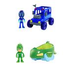 Coffret Véhicules et figurines Gluglu Bus Ninja - Pyjamasques