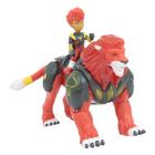 Figurines Gormiti Hyperbeast avec figurine de 7 cm Pyron et Riff