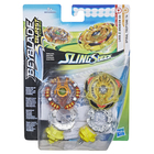 Toupies Beyblade Pack Duel Anubion A4 et Treptune T4 - Beyblade Burst Turbo Slingshock