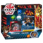 Figurines Bakugan Battle Planet - Pack Aurelus Cloptor et Pyrus Thryno