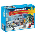 9007-Calendrier de l'Avent policier et cambrioleur - Playmobil Christmas