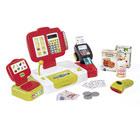 Grande caisse enregistreuse - 27 accessoires dont vraie calculatrice - rouge
