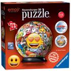 Puzzle 3D rond 72 pièces Emoji
