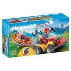 9130 - Playmobil Action Secouriste des montagnes avec quad