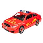Maquette simple voiture de pompiers