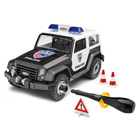 Maquette simple 4x4 Police