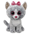 Peluche Beanie Boo's-Kiki la chatte 41 cm
