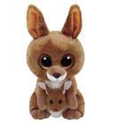 Peluche Beanie boo's - Kipper Le Kangourou 15 cm