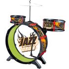 Batterie 3 tambours avec tabouret