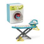 Machine à laver avec fer à repasser