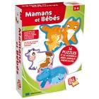Puzzles maman et bébés animaux