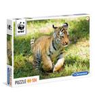 Puzzle 104 pièces WWF Lionceau
