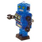Crystal Puzzle-Robot bleu