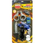 Blister 7 accessoires de Police
