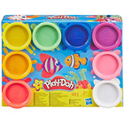 Play-Doh-8 pots de pâte à modeler
