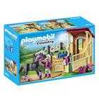 6934 - Box avec pur-sang Arabe Playmobil Country