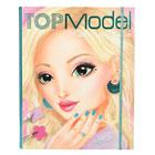 Album coloriage Top Model - Make Up Studio