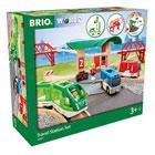 Brio 33627-Circuit gare et connexion routière