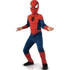 Spiderman-Déguisement avec couvre bottes 7/8 ans