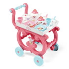 Disney princesses - desserte xl - plateau amovible - 17 accessoires