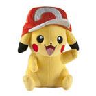 Pokemon-Peluche Pikachu avec casquette 25 cm