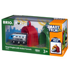 Brio 33834-Locomotive intelligente et portiques Smart Tech