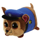 Pat' Patrouille-Peluche Teeny Tys Chase 8 cm