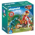 9431 - Pilote de moto et raptor Playmobil