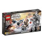 75195 - LEGO® STAR WARS - Microfighter Ski Speeder vs. Quadripode du Premier Ordre