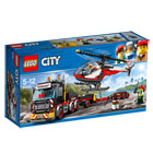 60183 - LEGO® City Le transporteur d'hélicoptère