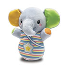 Peluche veilleuse éléphanteau dodo bleu