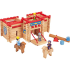 Château fort en bois 155 pièces