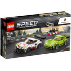 75888 - Lego® Speed Champions Porsche 911 RSR et 911 Turbo 3.0