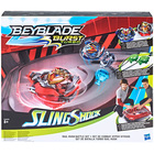 Toupie Beyblade - Set de combat hyper vitesse - Beyblade Burst Turbo Slingshock
