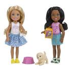 Barbie-Poupée Chelsea activité entre amies