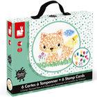 Kit créatif 6 cartes à tamponner