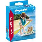 9354 - Sportive avec paddle Playmobil Spécial Plus