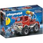 9466 - 4x4 de pompier avec lance-eau Playmobil City Action